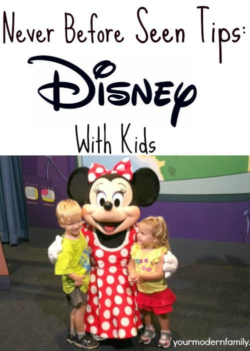 never before seen disney with kids tips