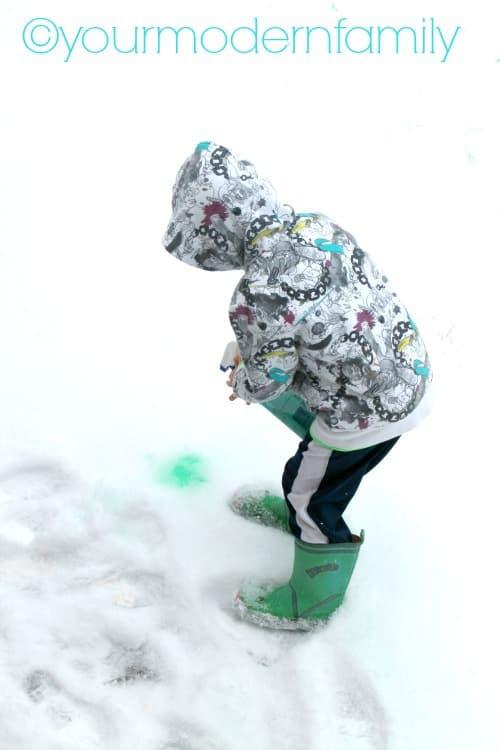 paint snow 1