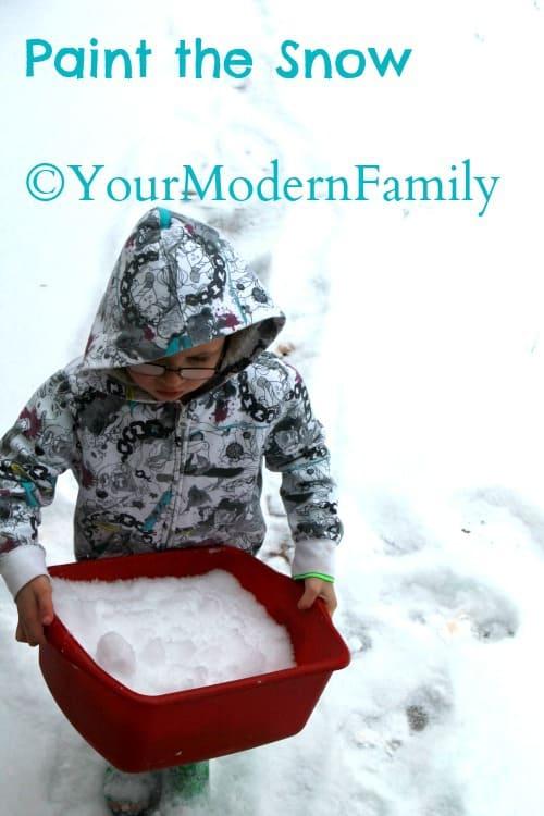 paint snow 3