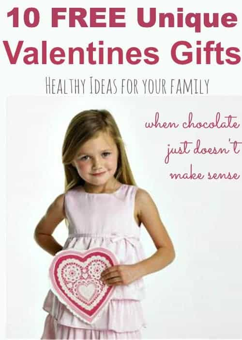 valentines gifts - healthy & free ideas for your family