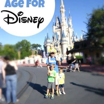what is the best age for disney