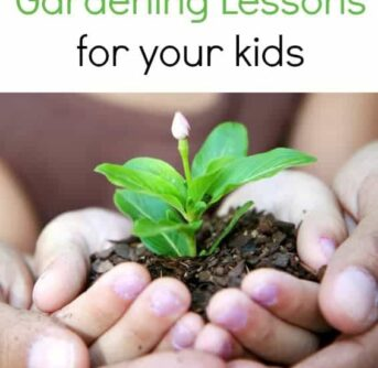10 gardening lessons for your kids!