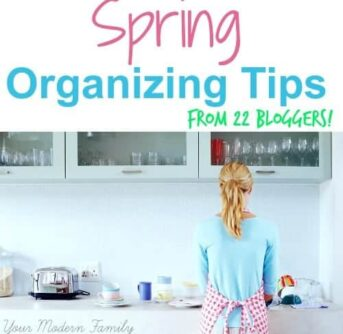 22 bloggers came together to help us clean & organize!