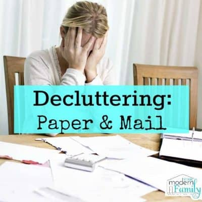 Decollating paper & mail