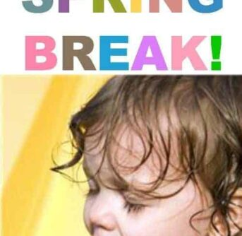 Potty Train during your Spring Break