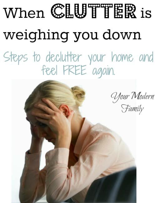 how to de-clutter your home