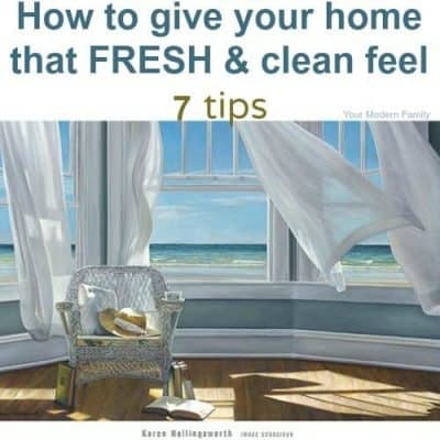 fresh clean smell for your home - 7 great & easy tips!