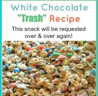 white chocolate trash recipe (& $50 gift card for you!)