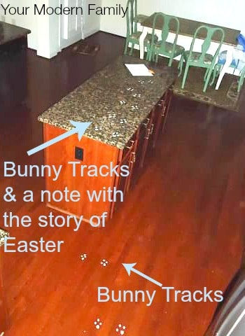 DIY bunny tracks 2