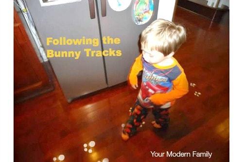 DIY bunny tracks