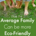 How an average family can be more GREEN!
