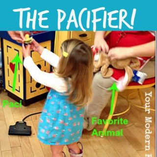 No more pacifier – how to use Build a Bear to get rid of the pacifier  {a clever solution!}