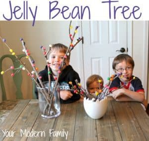 Jelly Bean Tree- easy to make