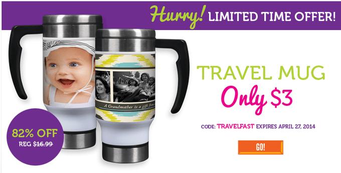 Travel mug $3