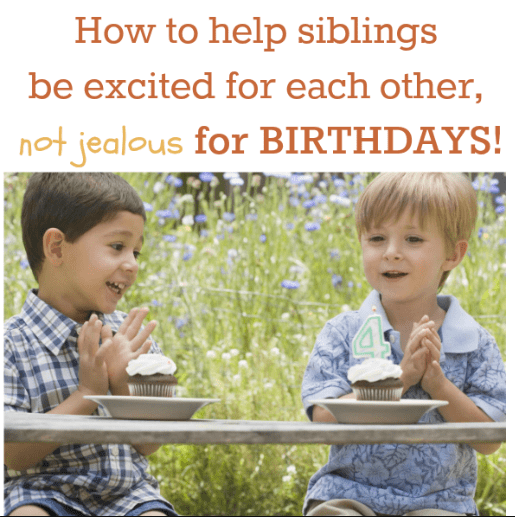 birthday for kids (getting the siblings involved)