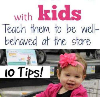 Shopping w kids (tips for calm shopping trips! )