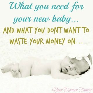 What you REALLY need for baby and what you shouldn't waste your money on: