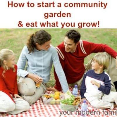 DIY community garden at your church