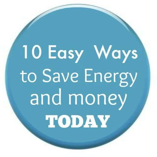 save money & energy today