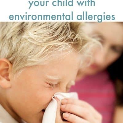 naturally help kids with envirornmental allergies