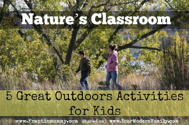 outdoor activities that your kids are going to LOVE!
