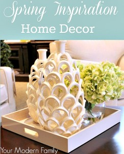 Decorating tips for spring