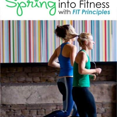spring into fitness (WITH A FREE CROSSFIT WORKOUT)