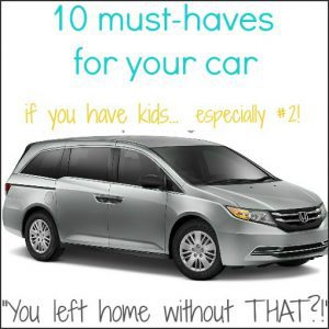 10 must haves for the car