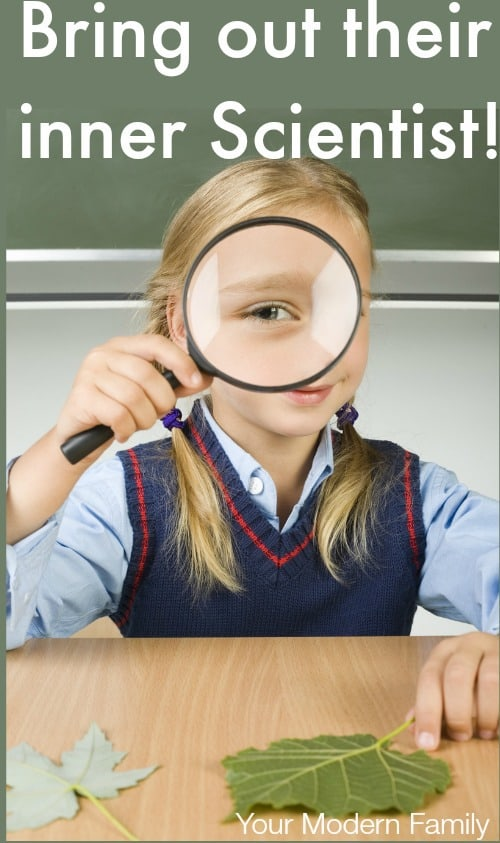 5 ideas to bring out their inner scientist!
