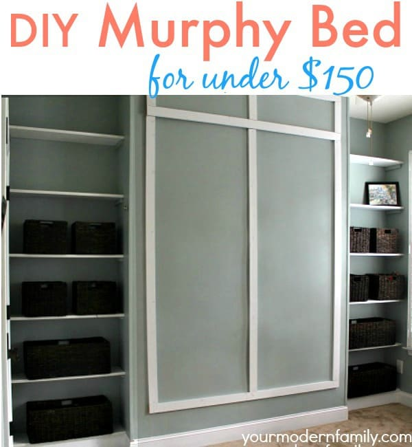 Diy Hidden Bed Diy Murphy Bed