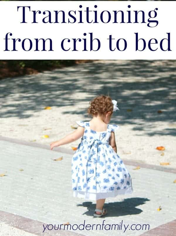 Transition From Family Bed To Crib Clare S Fox Y Big Bed The Transition From Crib To Toddler