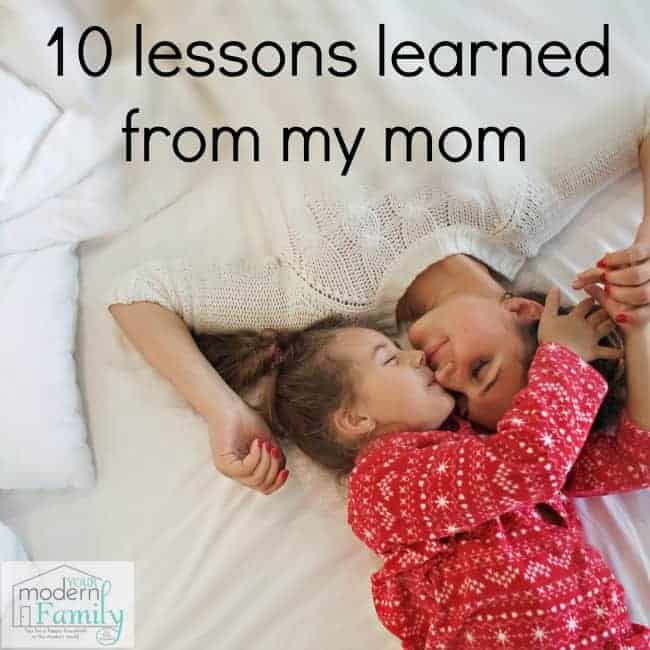 lessons from my mom