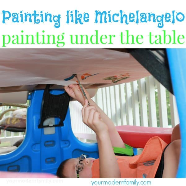 Michelangelo Inspired Art Projects
