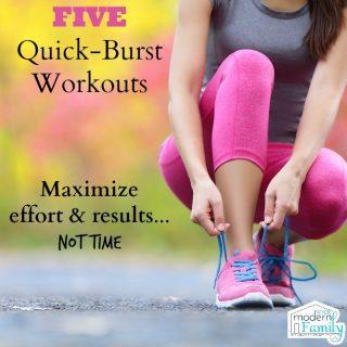 5 quick burst workouts