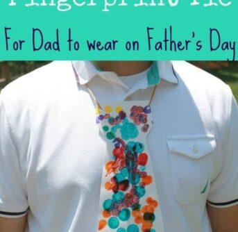 Fingerprint tie
