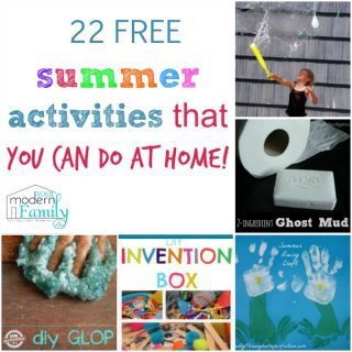 $500 giveaway & my Master List of 22 FREE summer ideas for kids  from TWENTY bloggers!
