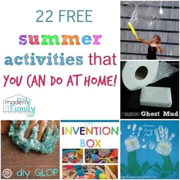 22 free summer activities