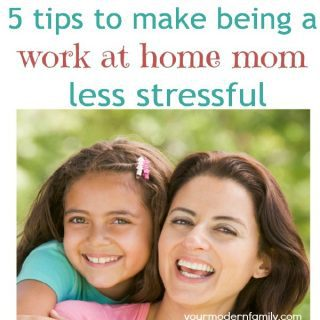 5 ideas to make being a work at home mom easier