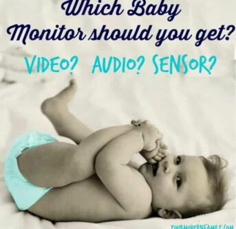 video or audio baby monitor