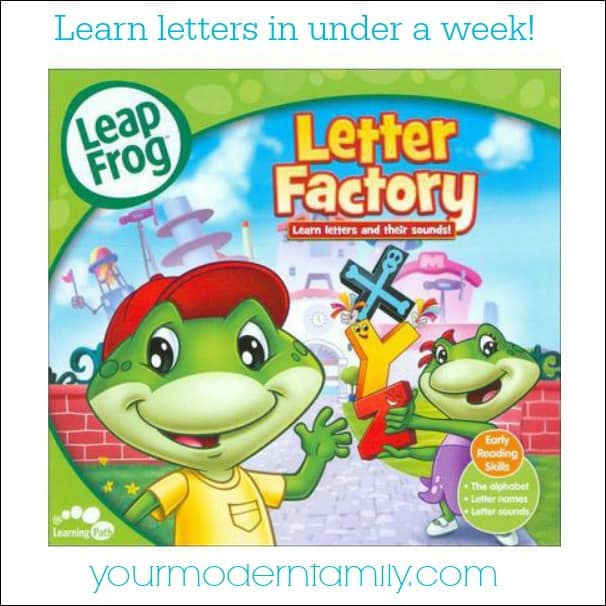 learn letters in under a week