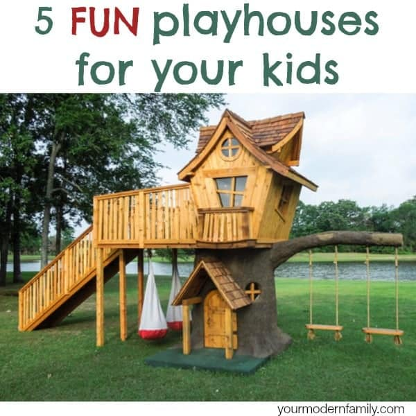 5 fun playhouses - Houses for families withchild ...