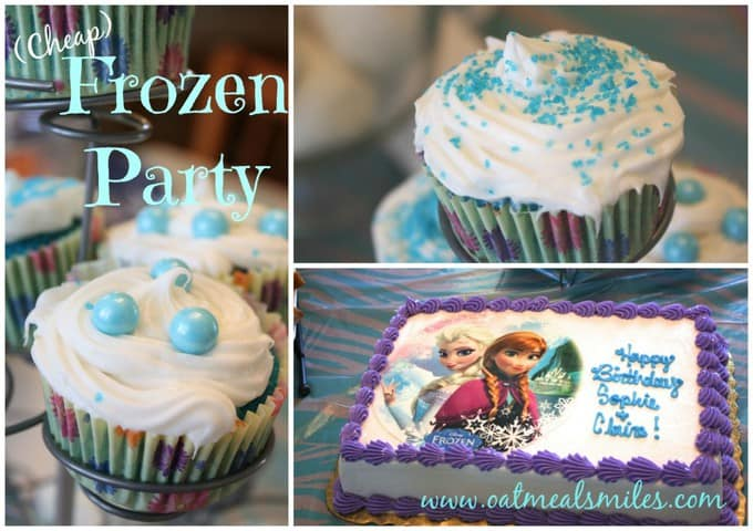 Birthday Cakes For Cheap ~ Frozen birthday party ideas