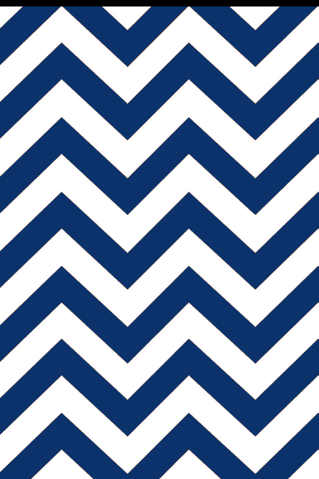 A close up of a canvas with a blue chevron design.