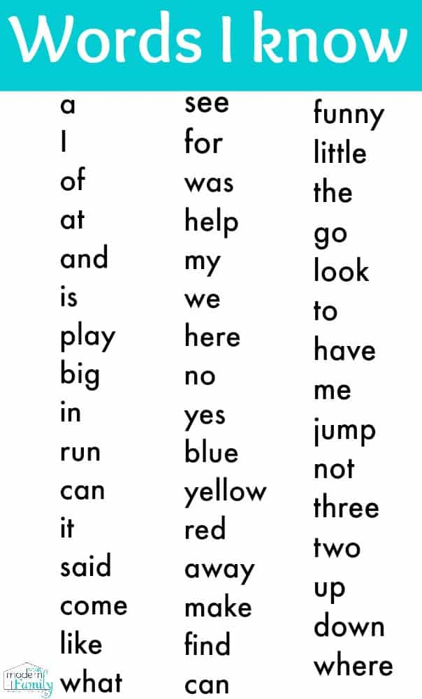 Printable Kindergarten Sight Words. Kindergarten Sight Words Printable. Kindergarten. Worksheet For The Kindergarten At Clickcart.co