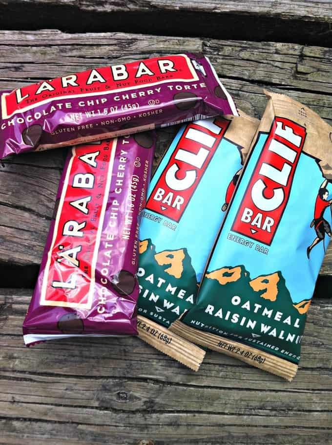 Clif and Lara Bars