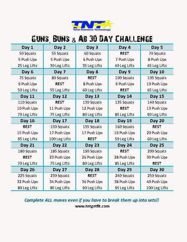 guns challenge