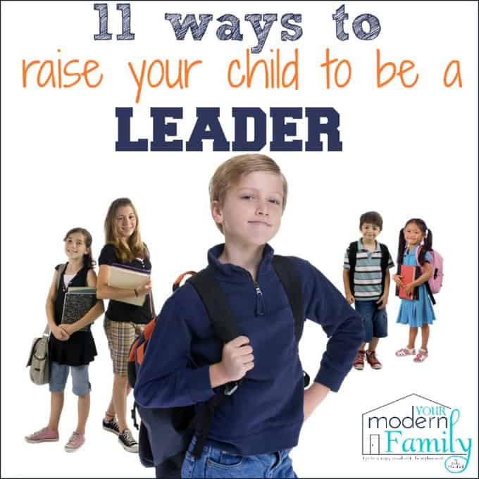 raise your child to be a leader