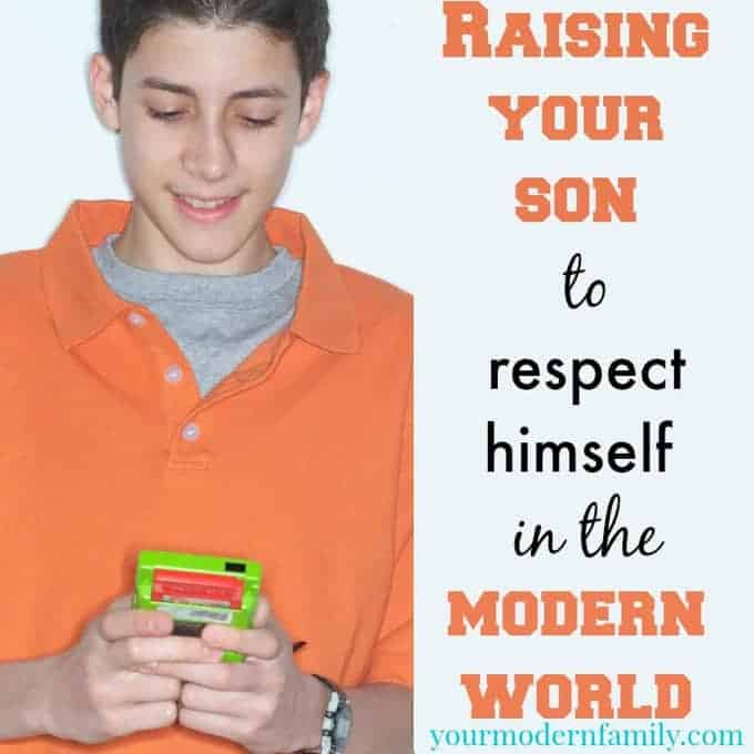 too young to date: raising your son to respect himself