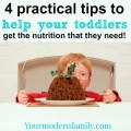 4 tips to help toddlers get nutrition