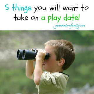 5 things to take on a play date